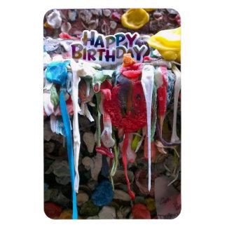 Bubblegum Happy Birthday magnet