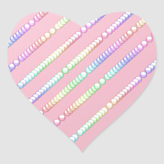 Bubblegum Heart Sticker