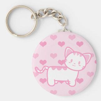 Bubblegum Kitty - Standing Keychain