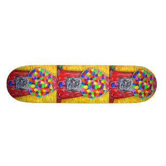 """""""Bubblegum Machine"""" Skateboard Deck"""