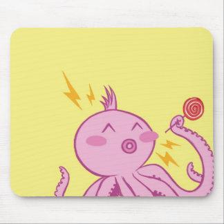 Bubblegum Octopus Mouse Pad