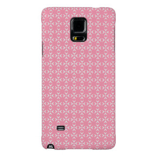 Bubblegum Pink Crosses/Dots Galaxy Note 4 Case