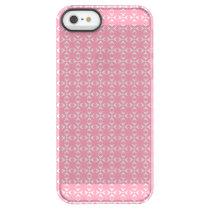 Bubblegum Pink Crosses/Dots Permafrost® iPhone SE/5/5s Case