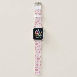 Bubblegum Pink Polka Dot Apple Watch Band