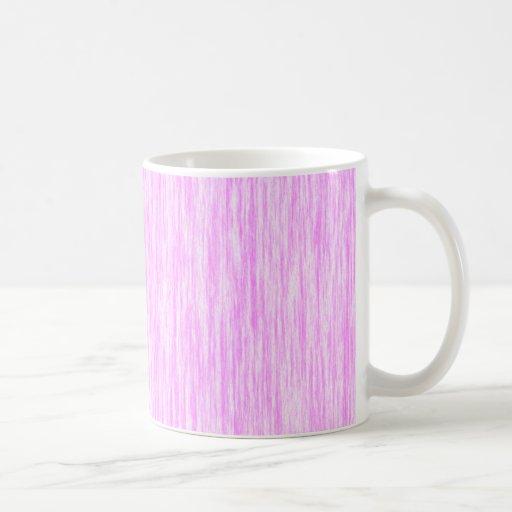 Bubblegum-Pink-Render-Fibers-Pattern Classic White Coffee Mug