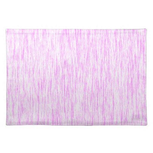 Bubblegum-Pink-Render-Fibers-Pattern Placemats