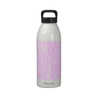 Bubblegum-Pink-Render-Fibers-Pattern Drinking Bottles