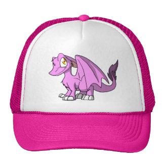 Bubblegum/Pink SD Furry Dragon Hat