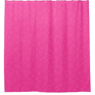 Bubblegum Pink Shower Curtain Y Cute Gifts