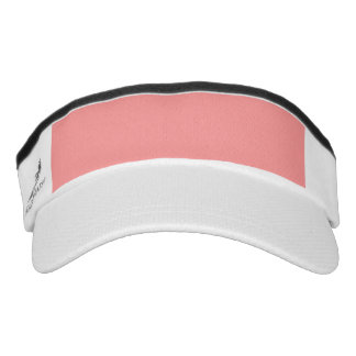 Bubblegum pink template to personalize Customize Visor