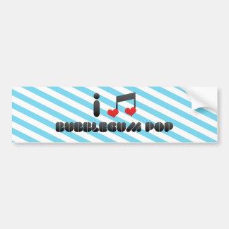 Bubblegum Pop Car Bumper Sticker