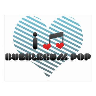 Bubblegum Pop Postcard