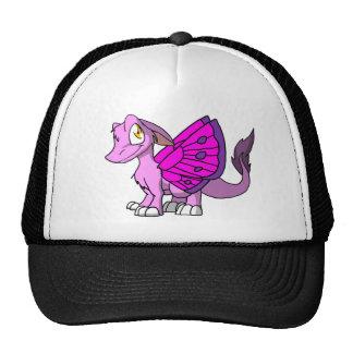 Bubblegum SD Furry Dragon w/ Butterfly Wings 1 Trucker Hat