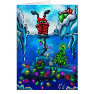 Bubblehead Christmas Card