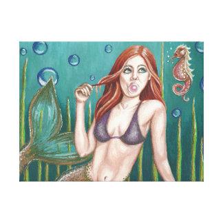 Bubblelicious Canvas Gallery Wrap Canvas