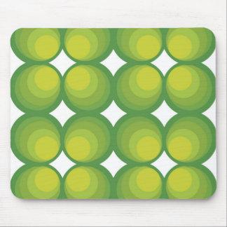 Bubblemuster verdes en setenta año Style