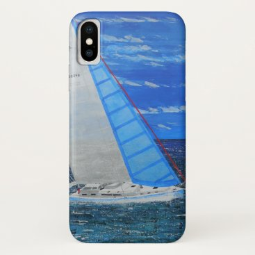Beach Themed Bubblepacific I phone iPhone X Case