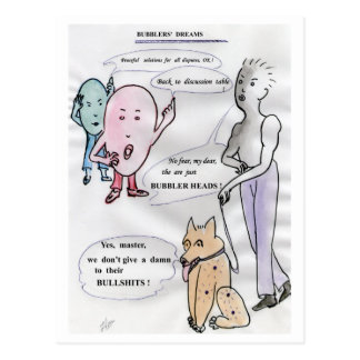 bubbler s dreams postcard