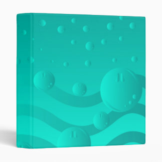 Bubbles 3 Ring Binder