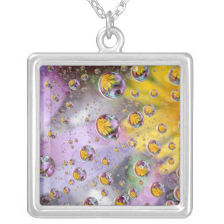 Bubbles abstract with flowers Credit as Nancy Custom Jewelry