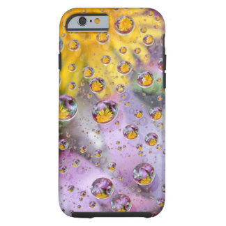 Bubbles abstract with flowers. Credit as: Nancy Tough iPhone 6 Case