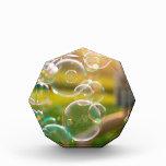 Bubbles Acrylic Award
