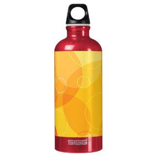 Bubbles Aluminum Water Bottle