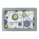 Bubbles and Lines Belt Buckles