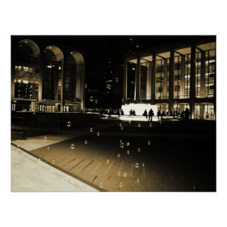 Bubbles at Lincoln Center, All Sizes Posters