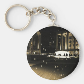 Bubbles at Lincoln Center Key Chains