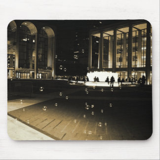 Bubbles at Lincoln Center Mouse Pad
