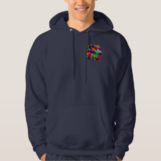 Bubbles Basic Hooded Hoodie