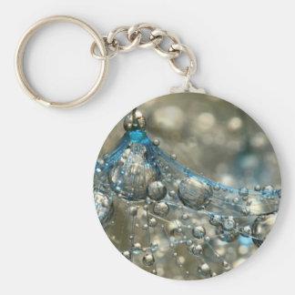 Bubbles Basic Round Button Keychain
