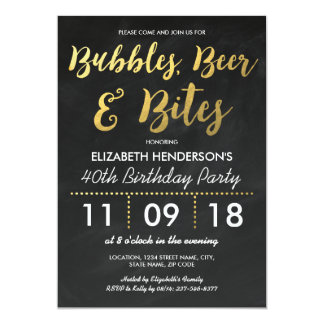 Adult Birthday Invitations Announcements Zazzle