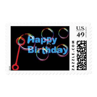 Bubbles Birthday Postage