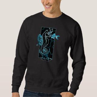 Bubbles_black/teal Sweatshirt