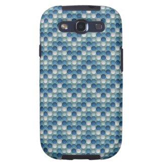 Bubbles Blue Samsung Galaxy S3 Case