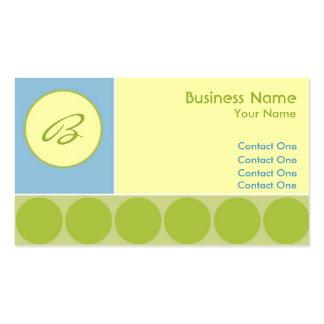 Bubbles Boy Business Cards