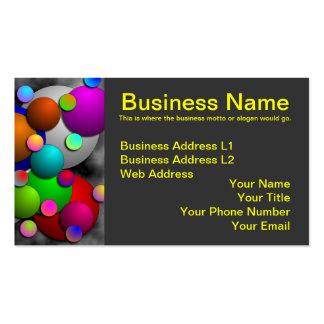Bubbles Business Cards
