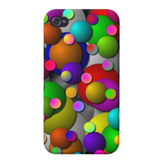Bubbles by Kenneth Yoncich Case For iPhone 4