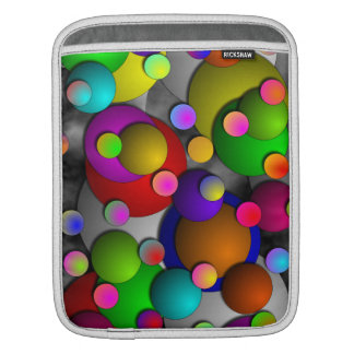 Bubbles by Kenneth Yoncich iPad Sleeve