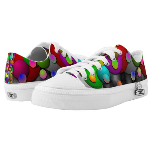Bubbles by Kenneth Yoncich Low-Top Sneakers
