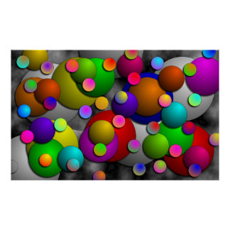 Bubbles by Kenneth Yoncich Poster