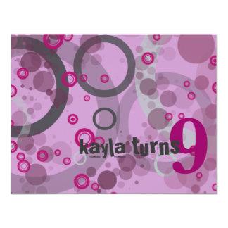 Bubbles Card