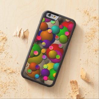 Bubbles Carved® Maple iPhone 6 Bumper