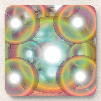 Bubbles coasters {set of six)