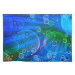Bubbles Design Cloth Placemat