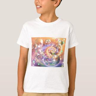 BUBBLES DIGITAL ART BACKGROUND WALLPAPER TEMPLATES T-Shirt