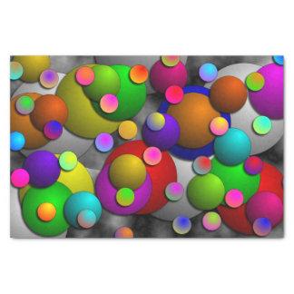 "Bubbles 10"" X 15"" Tissue Paper"