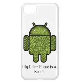 Bubbles Doodle Character for the Android™ robot Case For iPhone 5C